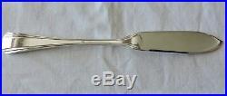 12 Couteaux A Poisson En Metal Argente Christofle Modele Boreal Art Deco