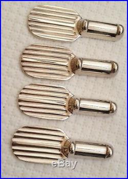 12 porte-couteaux en métal argenté Christofle