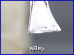 18 beaux porte couteaux en métal argenté Gallia Edouard Marcel Sandoz