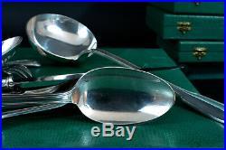 ATO Art Deco Ménagère 122 couverts métal argenté Coquille écrins Cuisine Table