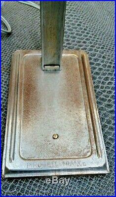 Ancienne lampe art-déco pirouett première édition 1930