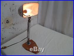 Ancienne Lampe De Bureau Architecte Atelier Art Deco Articule