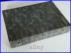 Ancienne ménagère Art Déco en métal argenté Christofle 36 pièce + 1 louche