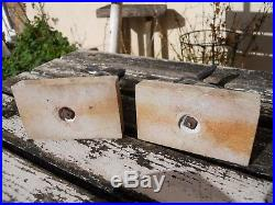 Ancienne paire de serres livres art déco 1930 argenté Lapins liévre yeux verre