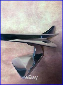 Avion Concorde en alu Trophée d'agence de voyage 45 cm de long