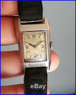 Belle Montre Vintage mouvement mécanique GLYCINE Art-deco Old Watch 1930