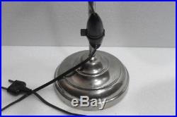 Belle et Ancienne LAMPE DE BUREAU Télescopique et Orientable Années 1930