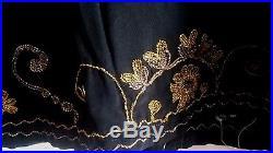 Blouse corsage 1920 broderie or et argent Antique French Art Deco Evening Blouse