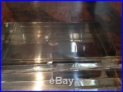 Boite ancienne en argent massif guilloché, Art Déco, à cigares ou autre, 450 g
