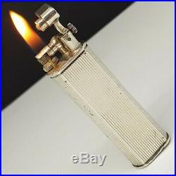 Briquet argent DUNHILL SYLPHIDE STERLING SILVER-Art déco-Lighter-Feuerzeug