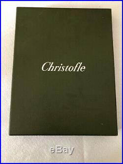 CHRISTOFLE Cadre à photo en métal argenté NEUF /Boite d'origine strié