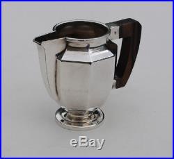 CHRISTOFLE GALLIA SERVICE THE CAFE METAL ARGENTE ART DECO Silverplate Tea Coffee