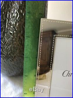 CHRISTOFLE Grand Cadre à photo en métal argenté NEUF