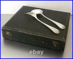 CHRISTOFLE MODELE BERAIN MENAGERE GRANDS COUVERTS 24 PIECES METAL ARGENTE Ca1930