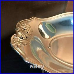 Christofle Gallia, Corbeille à pain, métal argenté, XX°