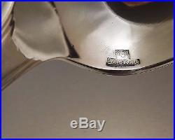 Christofle Modele America Menagere Art Deco 37 Pieces Metal Argente Vers 1950