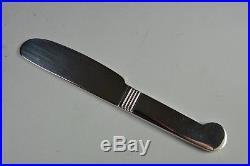Christofle douze couteaux à Beurre Art Déco Métal argenté Luc Lanel Neuf