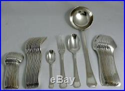 Christofle modèle América, ménagère 37 pièces Art Déco, métal argenté