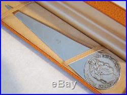 Coupe-papier Louis-Philippe 1845 argent massif par Eloi Pernet pour Puiforcat