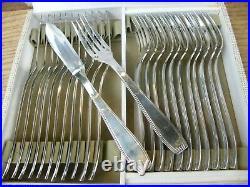 Couverts à poisson Art Déco Christofle en Argent Plaqué 24 pièces Silver Silber