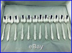 ERCUIS MENAGERE MÉTAL ARGENTÉ Silver plated flatware Art Déco 37 Pcs 12 Pers