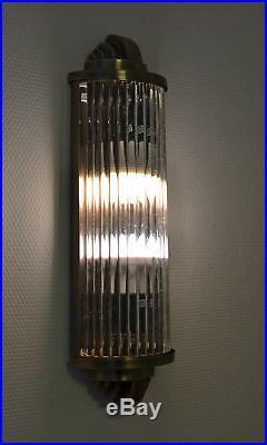 Éclairage de cinéma Art Déco applique murale classique lumière kinolampe