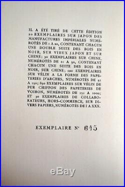FLAUBERT SCHMIED Salammbô Le Livre 1923 Art-Déco 6 hors-texte rehauts or argent