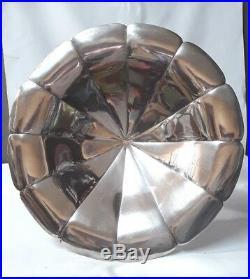 Gallia Christofle / Coupe Sur Pied En Métal Argenté D'époque Art Déco N°5829