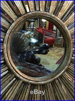 glace miroir soleil argent baguettes de r sine et miroirs diam tre 71 cm argente art. Black Bedroom Furniture Sets. Home Design Ideas