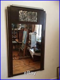 Grand Miroir art déco 1930 150cm x 90cm