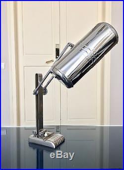 Grande lampe de bureau Art Déco Lampe de table salon orientable