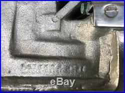 Henry Petitot Paire dappliques signees XXL Art Deco Bronze nickelé