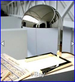 Jacques Adnet réédition lampe de table de 1930 Bauhaus art déco