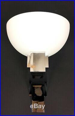 Jean Perzel (grande Paire D Appliques Chromées Modele 348bv) Epoque Art Deco