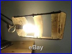 Lampe ART DECO 1930 CHROME design vintage building skyscrapper jumo pirouett