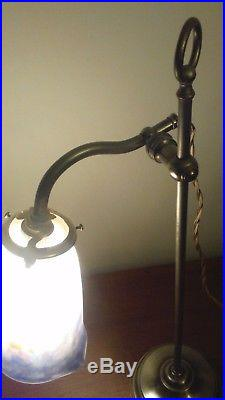 Lampe Table Art Déco Nouveau Tulipe Signée Muller French Lamp Lustre Daum