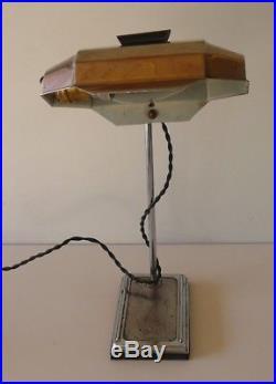 Lampe art-déco Pirouett signée