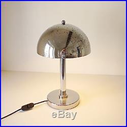 Lampe champignon Bauhaus art deco années 30 40 style Wagenfeld / Jucker 1930
