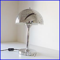 Lampe champignon art deco années 30 40 style Wagenfeld / Jucker 1930