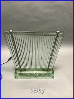 Lampe radiateur rené coulon pour saint gobain 1908-1997 light luminaire lampe