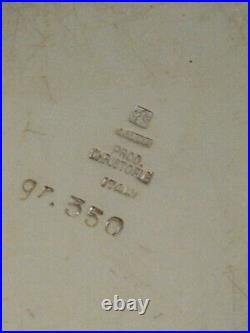 Lino SABATTINI, Gallia, Christofle circa 1950. Métal argent design XXé art déco