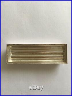 Lot De 12 Porte Couteaux En Argent Art Deco
