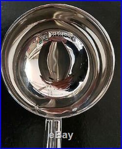 Louche Puiforcat 29.5 CM Modèle Chantaco Art Deco Superbe Métal Argenté 3001 17