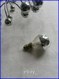 ++ Lustre applique PLAFONNIER Sciolari 3 lumières pissenlit spoutnik +++