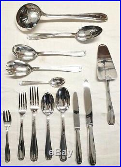 Ménagère 101 pièces ART DÉCO métal argenté Orf. LIBERTY couteaux fourchettes