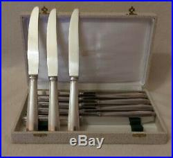 Ménagère 12 Couteaux LCF Métal argenté et lame Inox