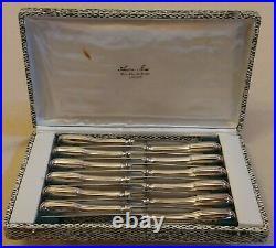Ménagère 12 Couteaux Métal argenté et lame Inox cailar bayard FROMAGES DESSERT