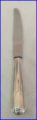 Ménagère 12 Couteaux Poinçon GV Métal argenté et lame Inox