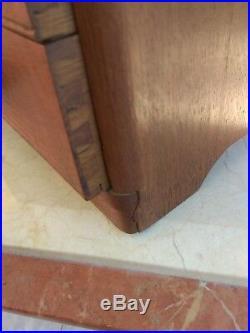Ménagère 92 pièces art déco métal argenté coffret bois