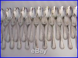 ce5ac85adf4 Ménagère Art Déco Jean Puiforcat en Argent Massif Minerve Silver Silber